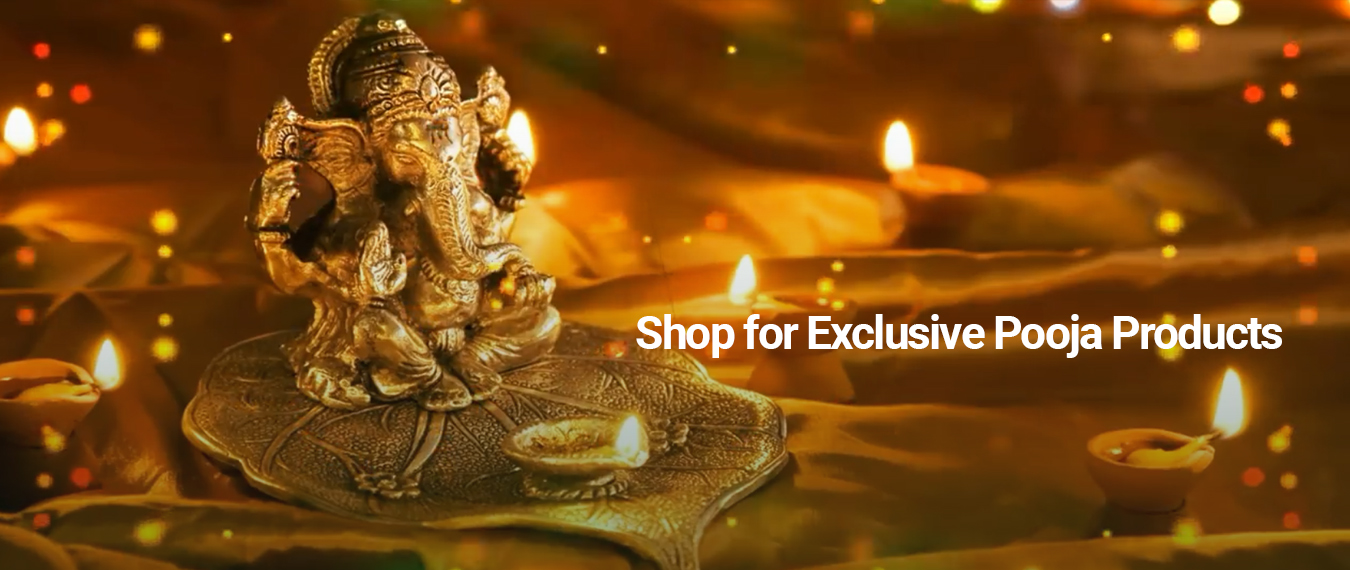 Shop Our Exclusive Pooja Products